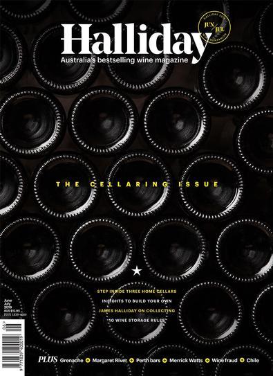Hallidays Wine Companion Magazine cover