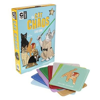 Cat Chaos Card Game cover