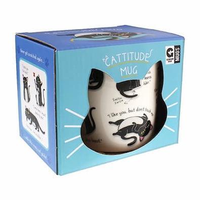 Cattitude Mug cover