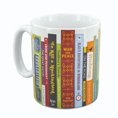 The Booklovers Mug cover