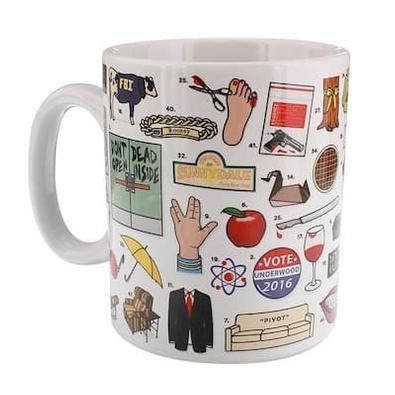 TV Box Sets Mug cover