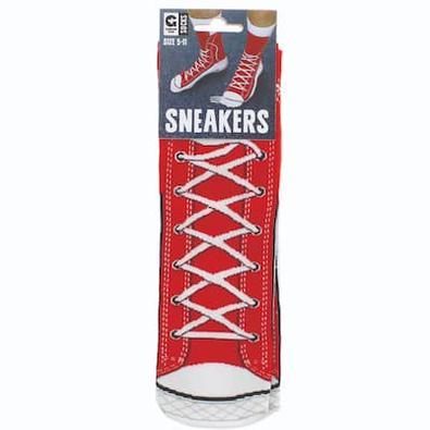 Red Sneaker Socks cover