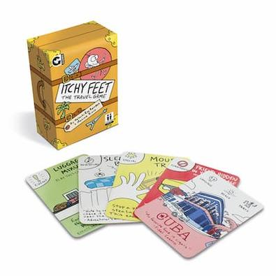 Itchy Feet Travel Card Game cover