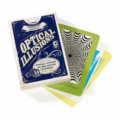 Mensa - Optical Illusions cover