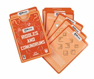 Mensa - Riddles and Conundrums cover