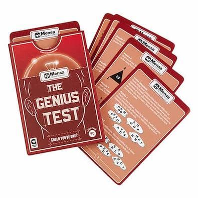 Mensa - The Genius Test cover