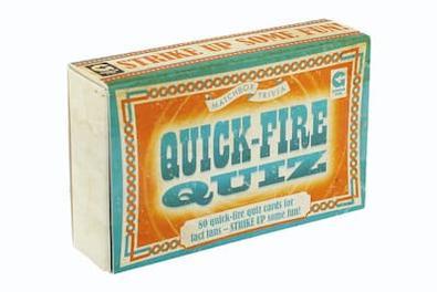 Matchbox - Quick Fire Quiz cover