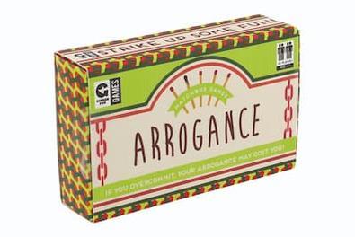 Matchbox - Arrogance cover