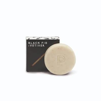 Black Fig & Vetiver Oatmeal Bar Soap cover