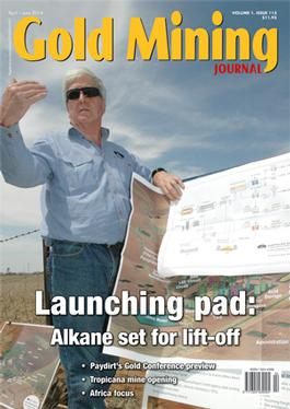 Gold Mining Journal magazine cover