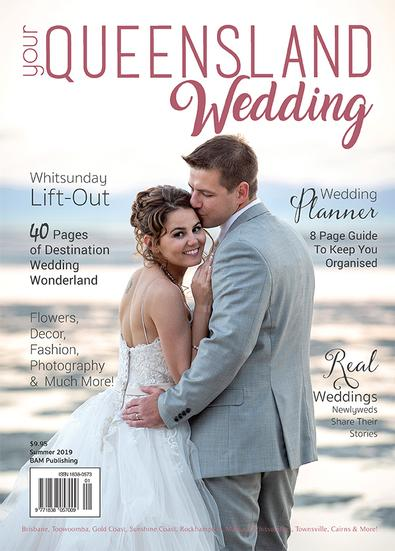 Your Queensland Wedding magazine cover