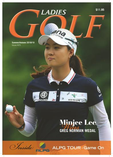 Ladies GOLF magazine cover