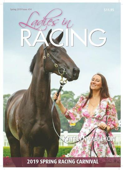 Ladies in RACING magazine cover