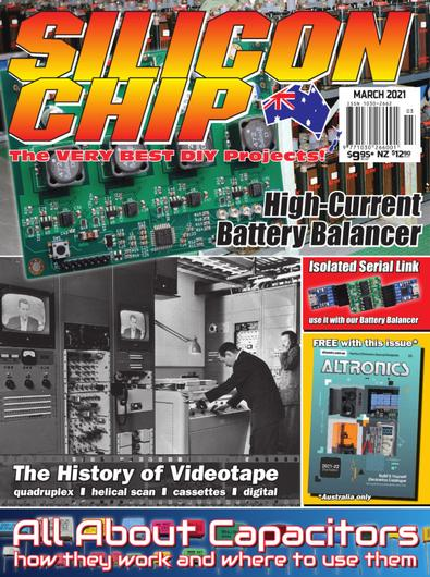 SILICON CHIP magazine cover