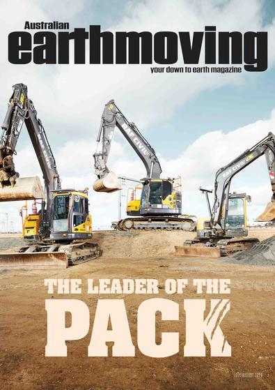 Australian Earthmoving magazine cover