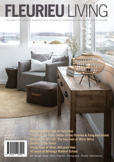 Fleurieu Living magazine cover