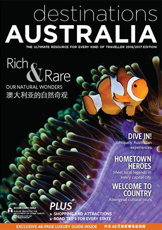 Destinations Australia cover