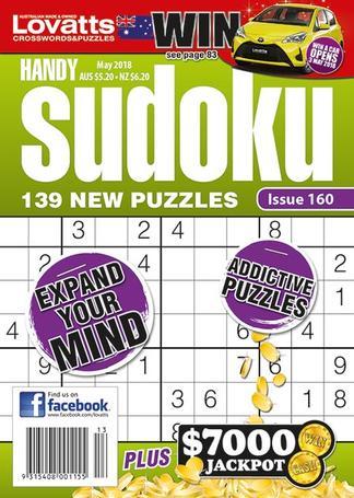 Lovatts Handy Sudoku magazine cover