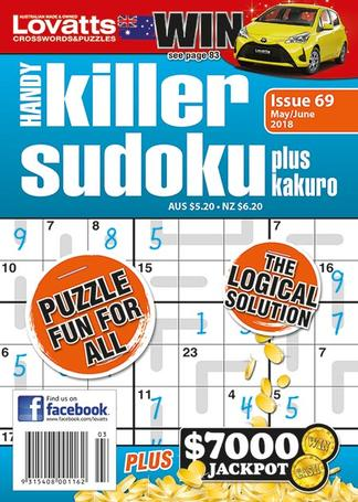 Lovatts Handy Killer Sudoku magazine cover