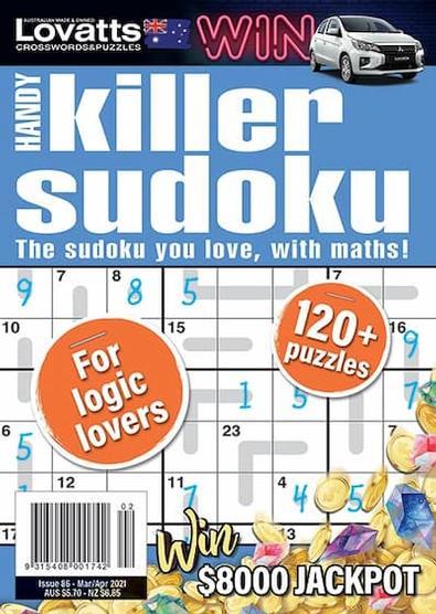 Lovatts Handy Killer Sudoku magazine cover