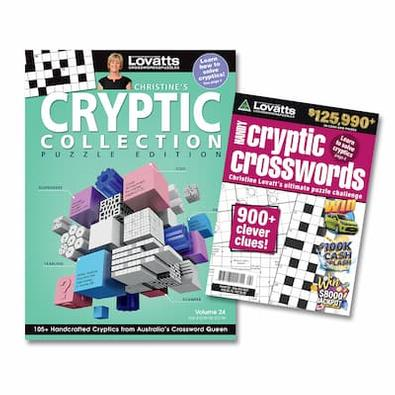 Lovatts Cryptics Bundle magazine cover