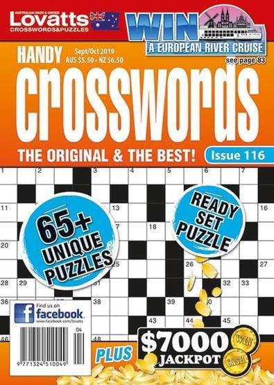 Lovatts Handy Crosswords magazine cover
