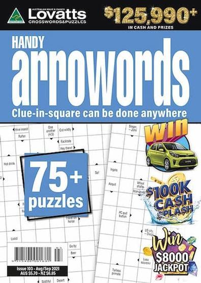 Lovatts Handy Arrowords magazine cover