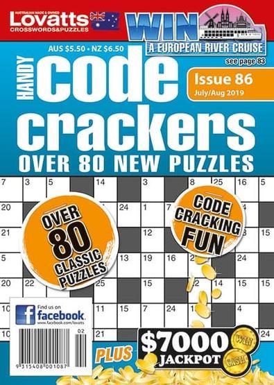 Lovatts Handy Code Crackers magazine cover