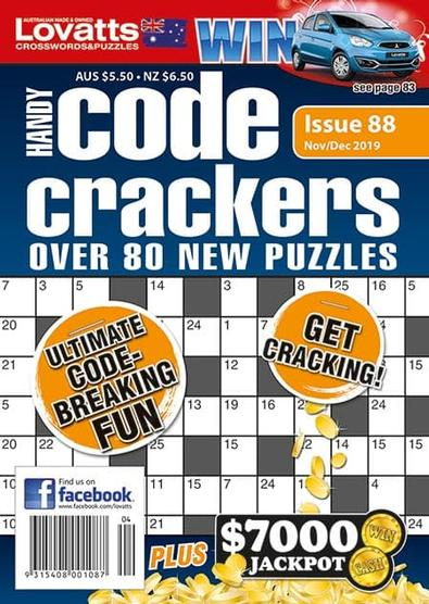 Lovatts Handy Code Crackers magazine cover