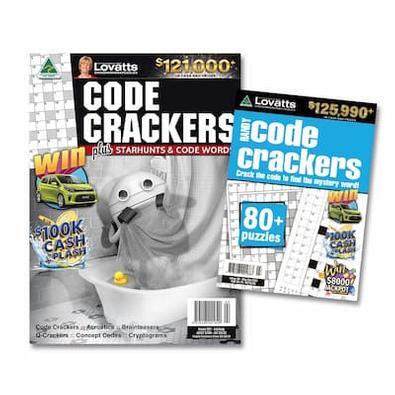 Lovatts Code Crackers Bundle magazine cover