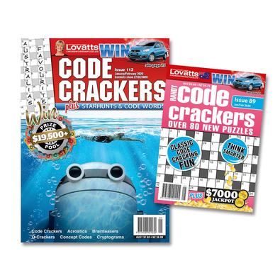Lovatts Code Crackers Bundle magazine cover
