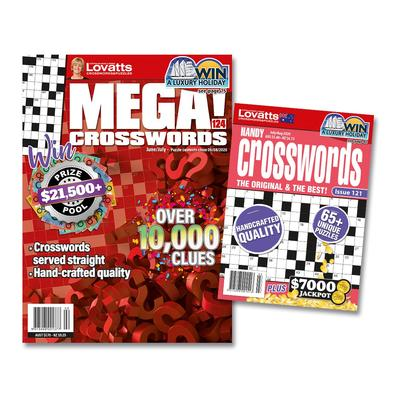 Lovatts Crosswords Bundle magazine cover