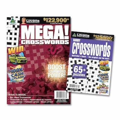 Lovatts Crosswords Bundle magazine cover