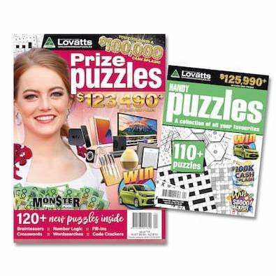 Lovatts Puzzles Bundle magazine cover