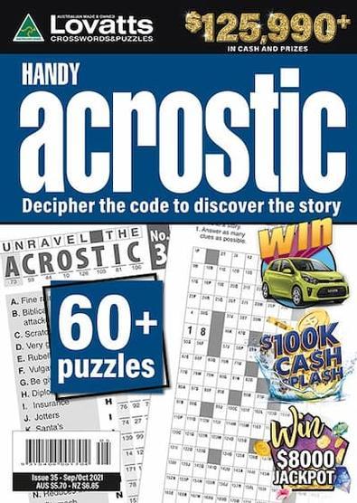 Lovatts Handy Acrostic magazine cover