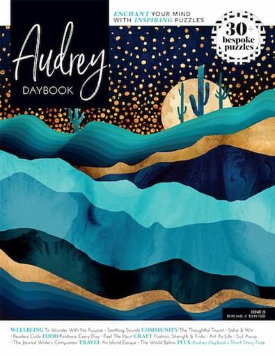 Audrey Daybook magazine cover