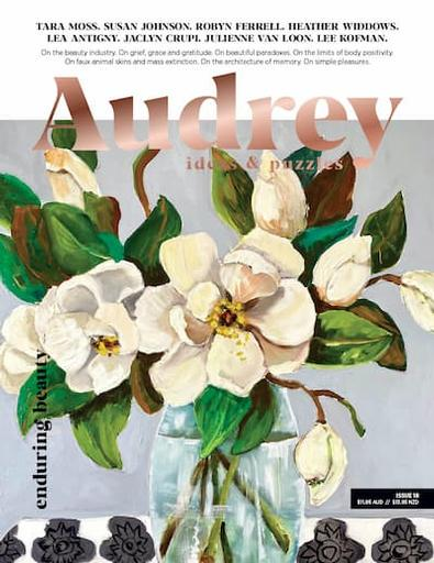 Audrey magazine cover