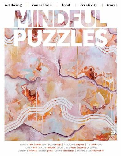 Mindful Puzzles (previously called Audrey) magazine cover