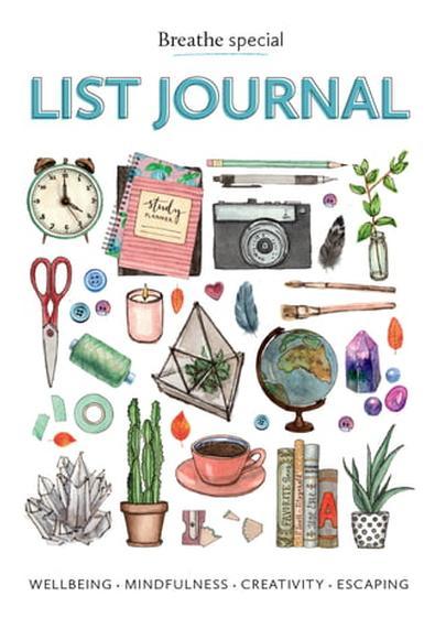 Breathe List Journal cover