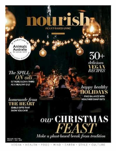 nourish magazine cover