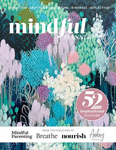mindful PLANNER cover