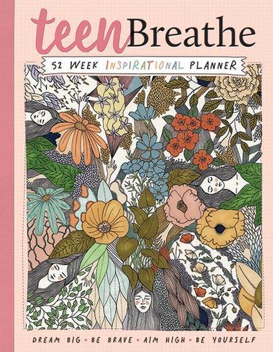 Teen Breathe Inspirational Planner cover