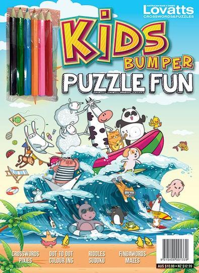Kids Bumper Puzzle Fun Annual 2021 cover