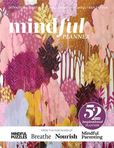 mindful PLANNER 2nd Edition cover