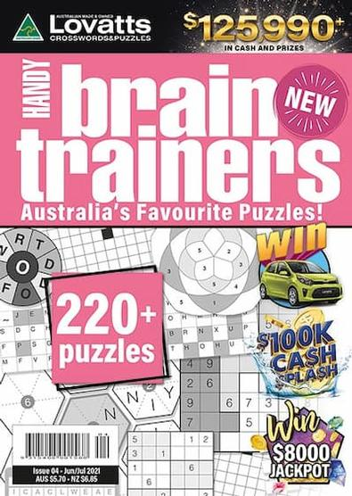 Lovatts Handy BrainTrainers magazine cover