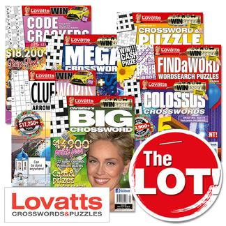 Lovatts THE LOT magazine cover