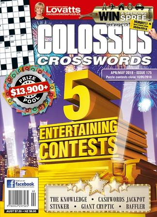 Lovatts Colossus Crosswords - 12 Month Subscription