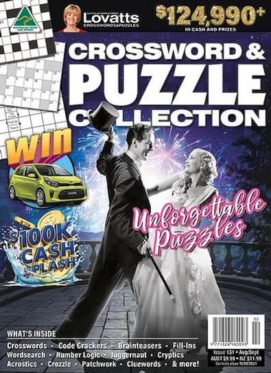 Lovatts Crossword & Puzzle Collection magazine cover