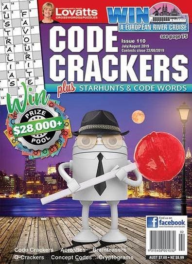 Lovatts Code Crackers magazine cover