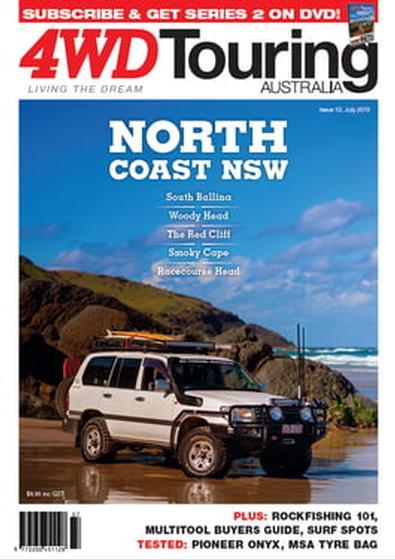 4WD Touring Australia Issue 12 magazine cover